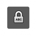 Cadeado Caps Lock na tela